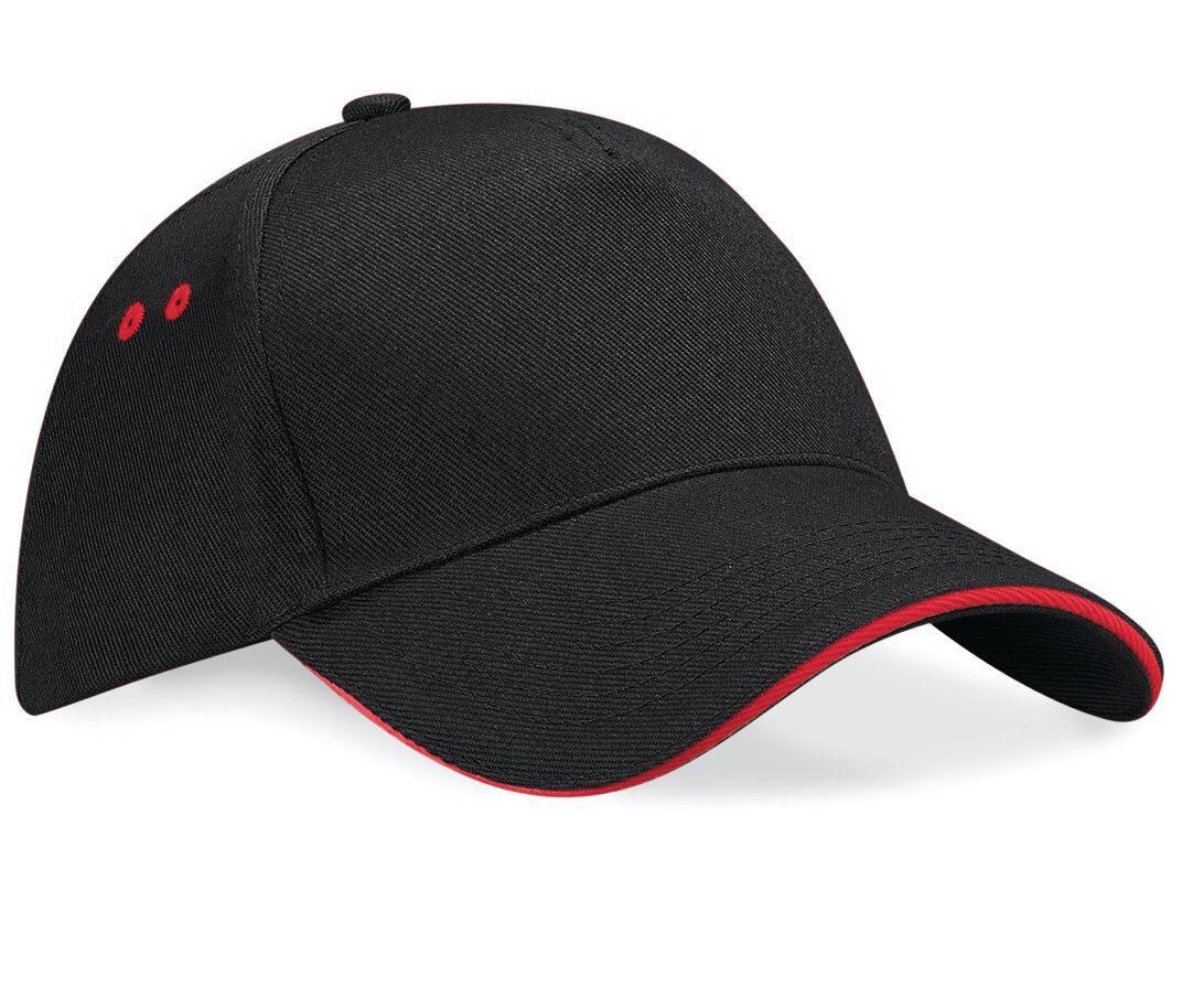 casquette bicolore